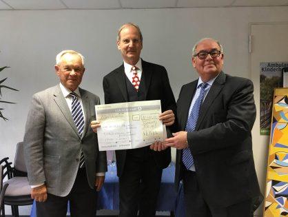 Manfred Roth-Stiftung / BHPV Spende: 10.000 EUR für die Hospizarbeit