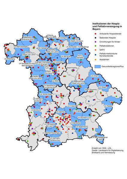 Karte zeigt, was Ehrenamtliche leisten