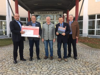 Spendenübergabe im Landratsamt Bad Tölz